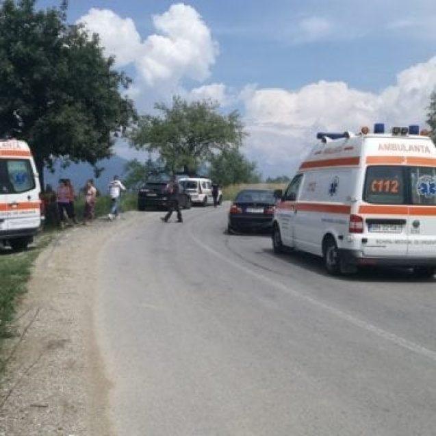 FOTO – Accident neobișnuit la Dorolea: trei tineri au avut parte de o sperietură zdravănă din cauza unui…câine