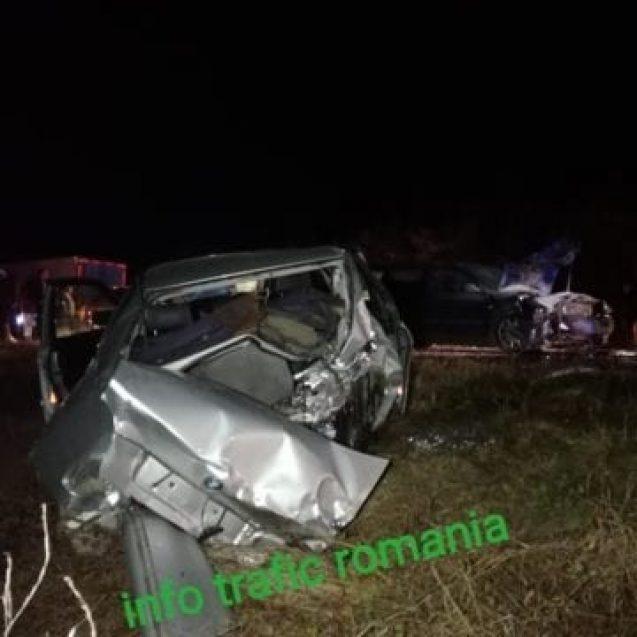 FOTO – Grav accident de circulație, cu un TIR și trei mașini, lângă Gherla. Printre răniți s-ar număra și bistrițeni