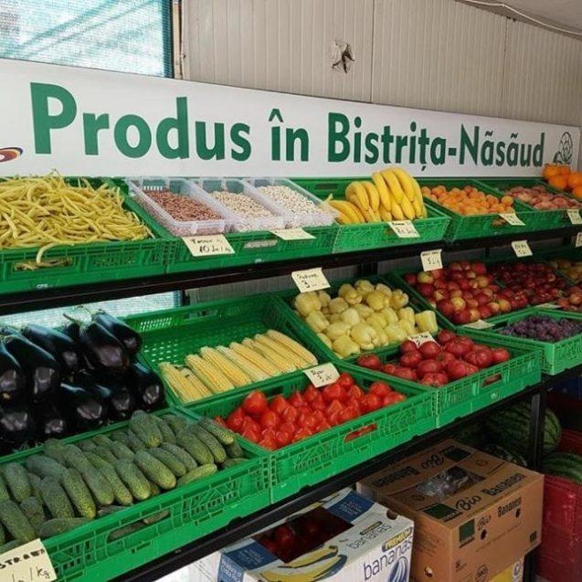 """UNIC! S-a deschis primul aprozar cu legume """"Produs în Bistrița-Năsăud"""""""