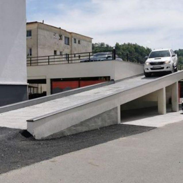 Cum va arăta parcarea de pe Bistricioarei, ce promite să rezolve problema locurilor de parcare din centru