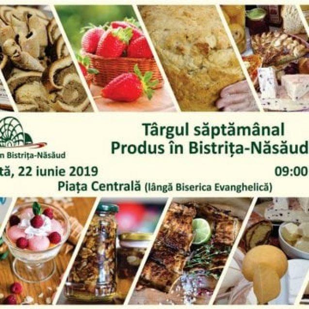 CONCURS cu premii savuroase, mâine, la piaţa locală Produs în Bistriţa-Năsăud!