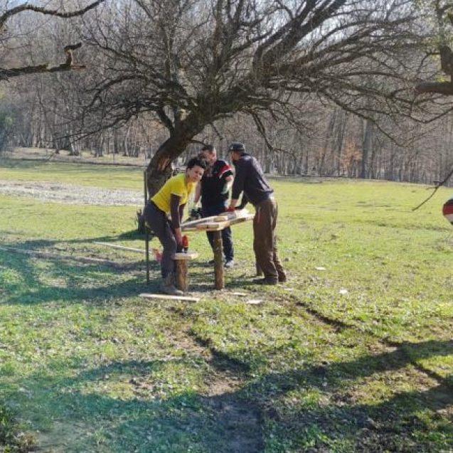 FOTO:  Un nou spectaculos loc de picnic, pentru bistrițeni!