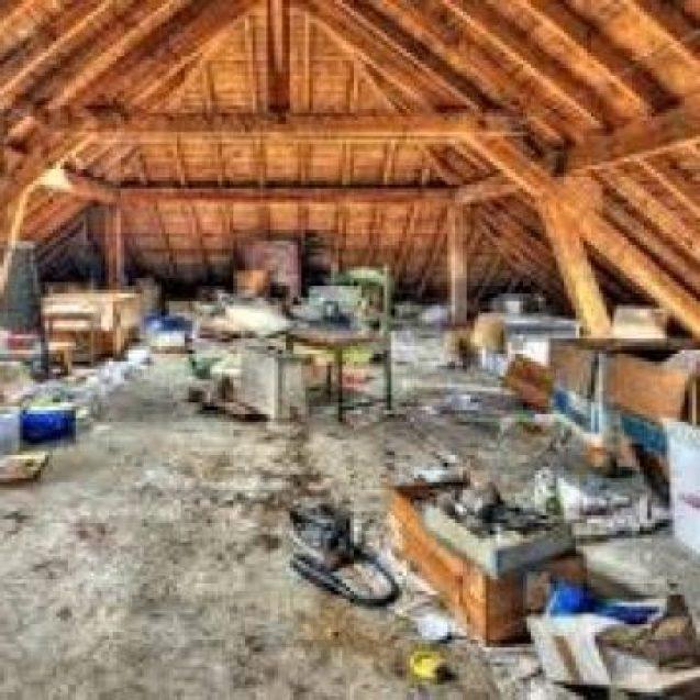 FOTO: Descoperiri neobișnuite, în podul unei case din Budac și curtea unei locuințe din Căian