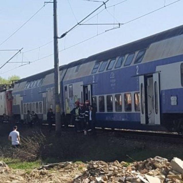 FOTO – SALVA: Zeci de persoane, evacuate din tren în urma unei alerte!