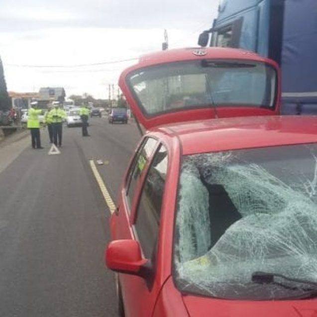 FOTO – Accident mortal în Susenii Bârgăului! Un bărbat a fost spulberat de un autoturism