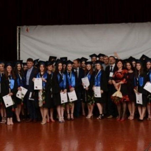 FOTO: Și-au luat adio de la studenție